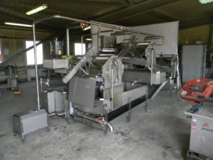 Автоматическая линия для обработки черевы