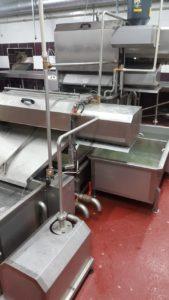 Полуавтоматическая комбинированная линия (малой производительности) для обработки черевы свиней/КРС/МРС BW-MCU