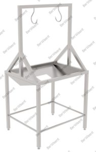 Стол для обезжиривания