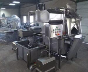 Полуавтоматическая комбинированная линия (малой производительности) для обработки черевы свиней/КРС/МРС